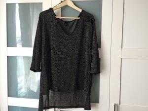 Leichter Pullover aus Glitzerbaumwolle, H&M, L