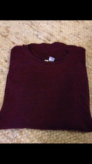 Leichter Pullover bordeaux
