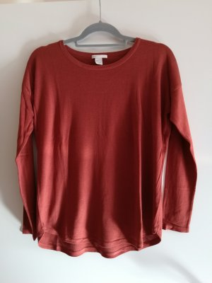 H&M Pull oversize rouille