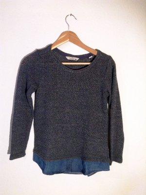 Leichter Pullover im Layering-Look in Größe 32/34
