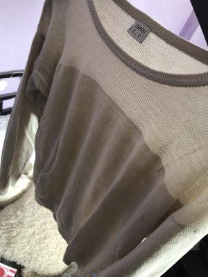 Leichter Pullover in beige