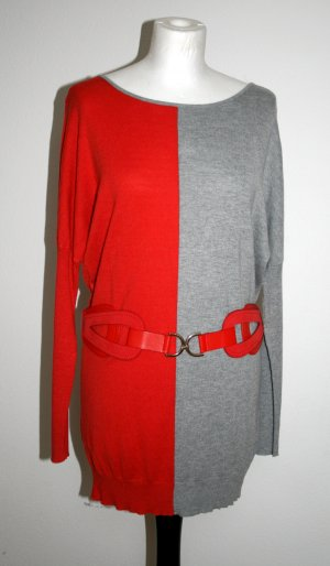Long Sweater multicolored