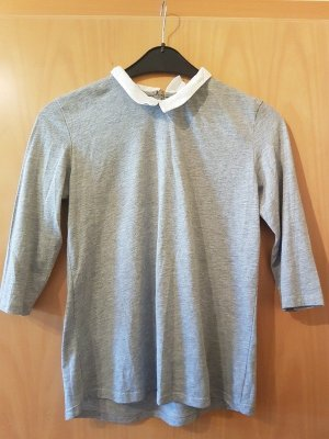 Clockhouse Short Sleeve Sweater grey