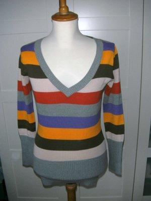 Vero Moda Pull col en V multicolore