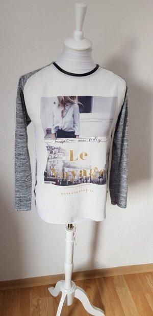 leichter Pullover Print Zara