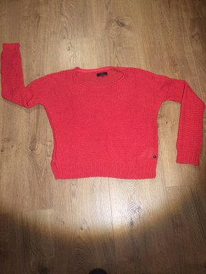 Campus by Marc O'Polo Crochet Sweater red