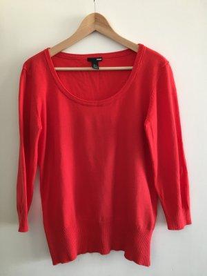 Leichter Rundhals-Pullover in Größe L