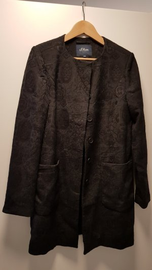 s.Oliver Between-Seasons-Coat black