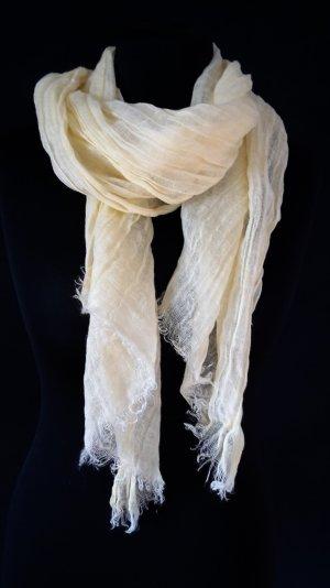 Leichter Schal in Pastell