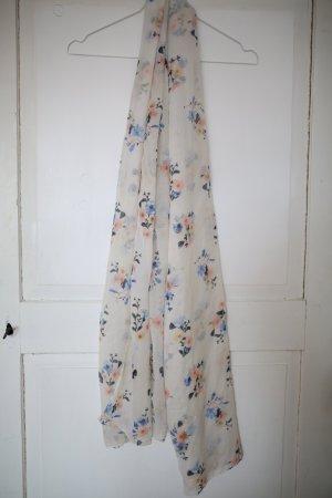 Leichter Schal mit Blumenmuster