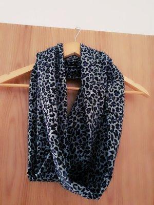 Leichter Schal mit Leopard Muster