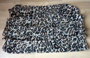 leichter Schal Winterschal Tuch Stola Leo Leopard