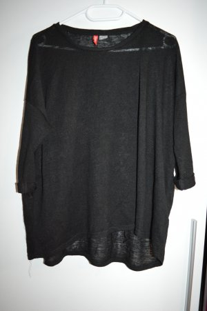 H&M Divided Long Sweater black