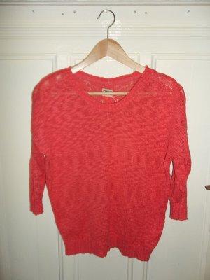 Leichter Sommer Pullover mit Knopfleiste am Rücken