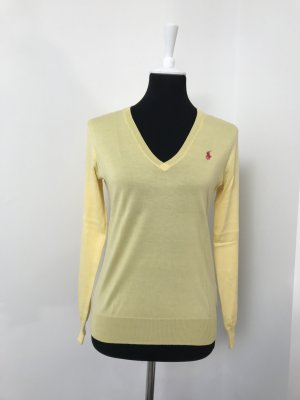 Leichter Sommer Pullover Ralph Lauren gelb