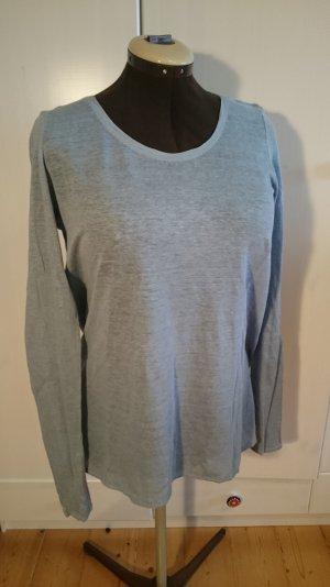 Leichter Sommerpulli, Esprit, M , grau/blau, Am 30. April schließe ich meinen Kleiderschrank!!!