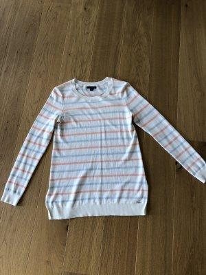 Tommy Hilfiger Kraagloze sweater veelkleurig