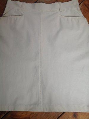 Orwell Miniskirt natural white mixture fibre