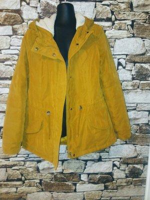 Only Parka giallo-giallo pallido Tessuto misto