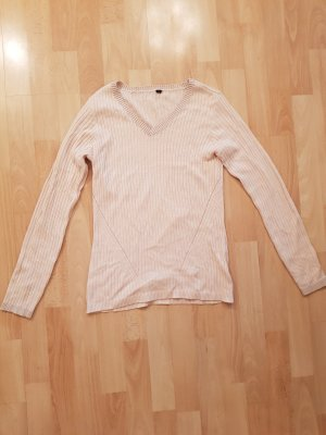 Fine Knitted Cardigan nude-apricot