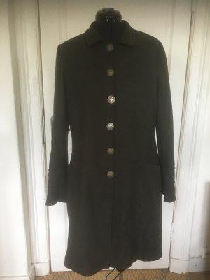 Abrigo de entretiempo gris oscuro Lana