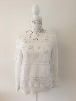 Leichter, transparenter Pullover