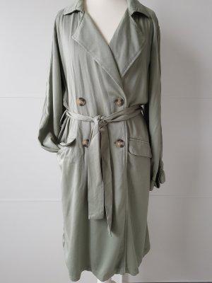 Amisu Trenchcoat grijs-groen