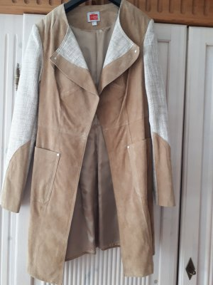 Travel Couture by Heine Leather Coat light brown