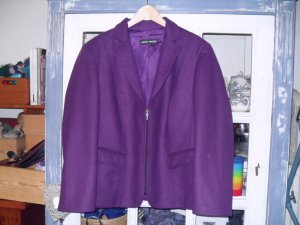 Gerry Weber Wool Blazer brown violet wool