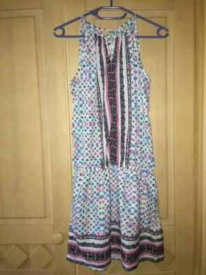 Promod Off-The-Shoulder Dress multicolored