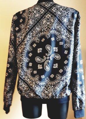 Leichtes Alcott Blouson Jacket, Bandana Design, Gr. L