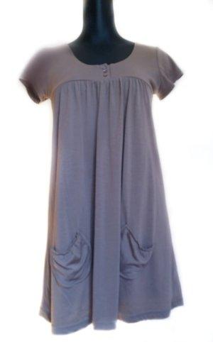 Babydoll Dress light brown viscose