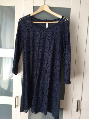 Leichtes Baumwollkleid mit Spitzenfront, H&M