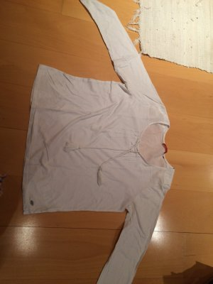 Leichtes Blusenshirt mit Kordeln