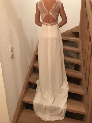 Leichtes Boho Vintage Hochzeitskleid