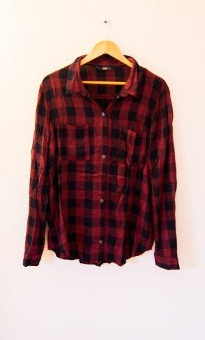 Only Shirt met lange mouwen veelkleurig Viscose