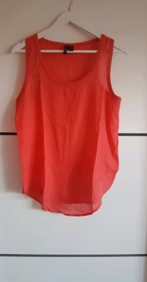Mango Off-The-Shoulder Top bright red