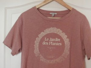 Zara Trafaluc T-shirt court or rose