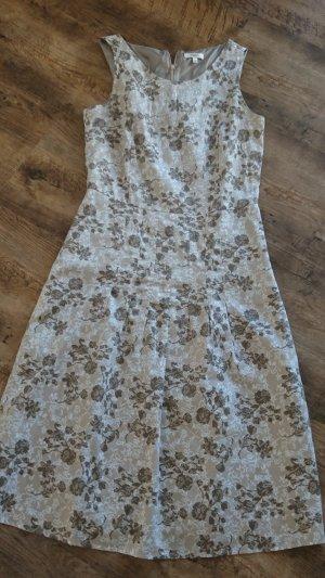 Anne L. Pinafore dress multicolored cotton