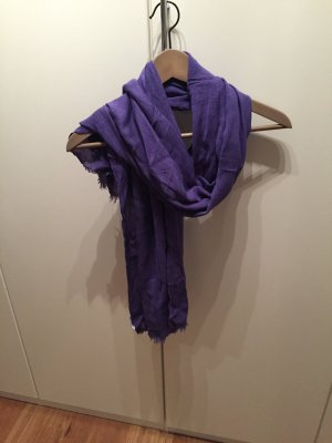 Mango Foulard violet foncé