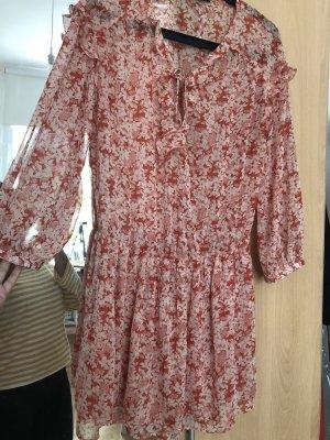 Leichtes Kleid Bluse Zara Blumen M Boho blogger