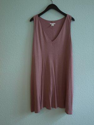 leichtes Kleid in Altrosa