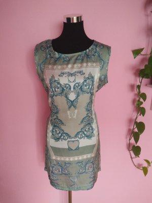 Leichtes Kleid mit Muster bunt (K1)