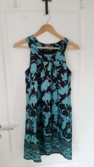 Apricot Pinafore dress black brown-turquoise