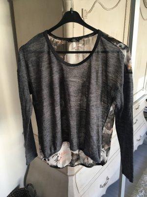 Leichtes kombiniertes Oberteil mit Blumenprint von Zara in S