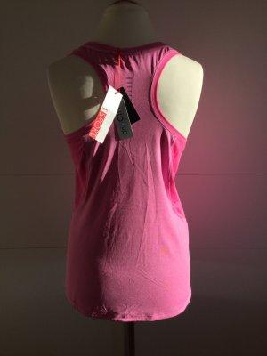 Leichtes, langes Running Top mit kleiner, seitlicher Reißverschlusstasche (NEU)