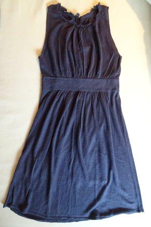 Kookai Vestido tejido violeta oscuro Lino
