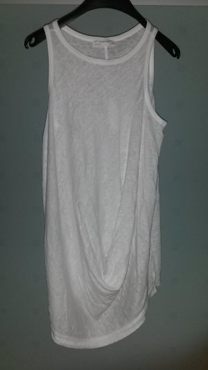 leichtes Longtop von Zara W&B Collection in weiß Gr. 36