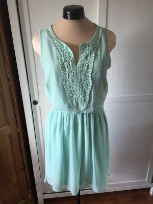 leichtes mintgrünes Kleid, greek style, ungetragen mit Etikett