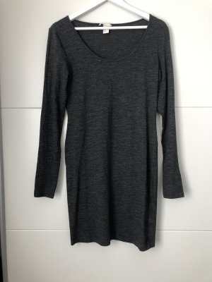 Long Cardigan dark grey